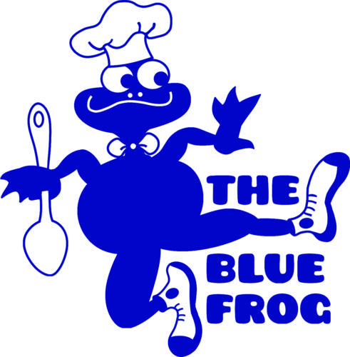 The Blue Frog Bakery logo